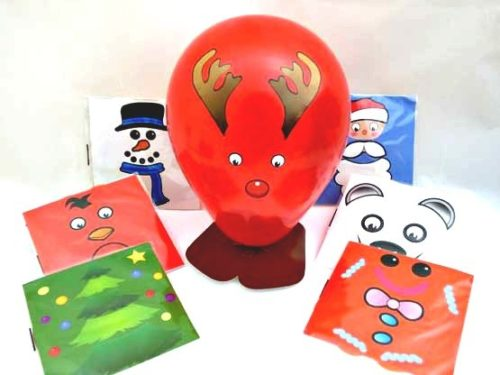 Balloon Christmas Character Kit