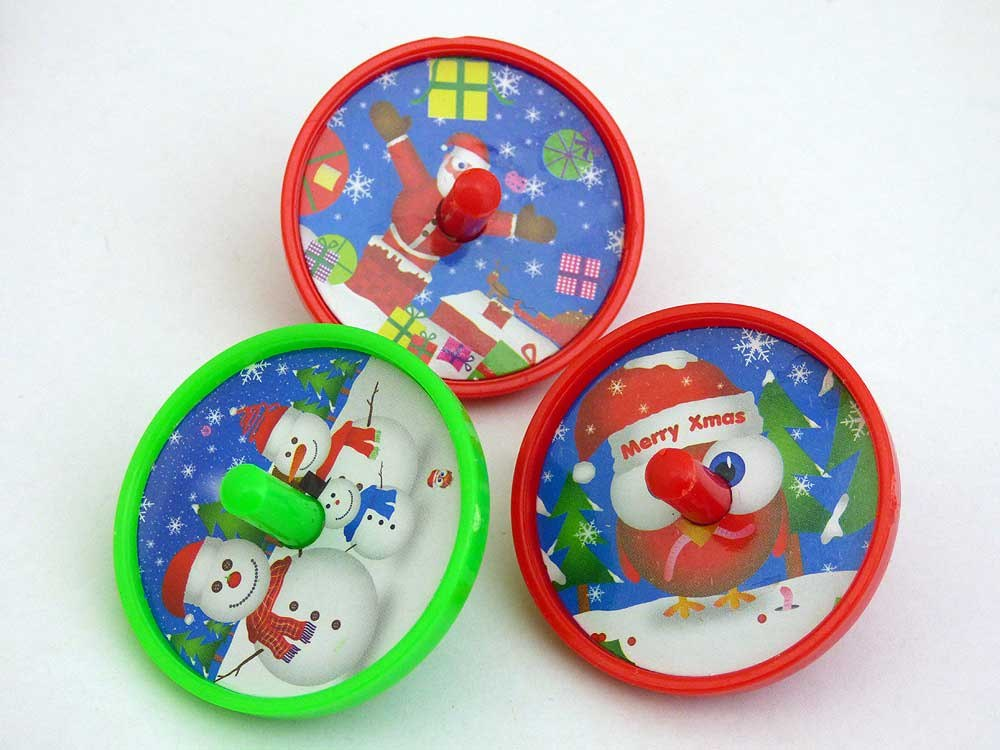 Jolly Christmas Spinning Top