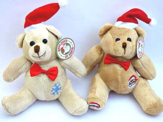 Cuddly Christmas Teddy