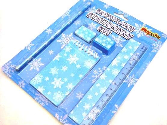 Snowflake Stationery Set
