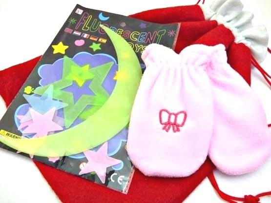 Baby Girls Glow Stars Christmas Sack