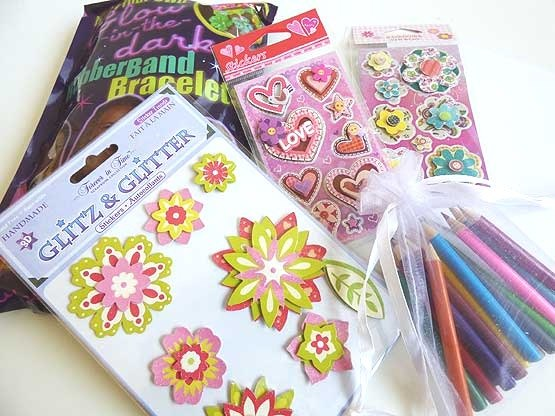 Deluxe Jewellery Kit & Stickers Wedding Busy Bag