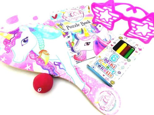 Deluxe Unicorn Bif Bat Wedding Busy Bag
