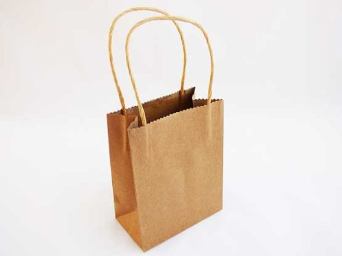 Brown Kraft Gift Bag
