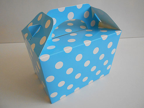 Blue Polka Dot Box