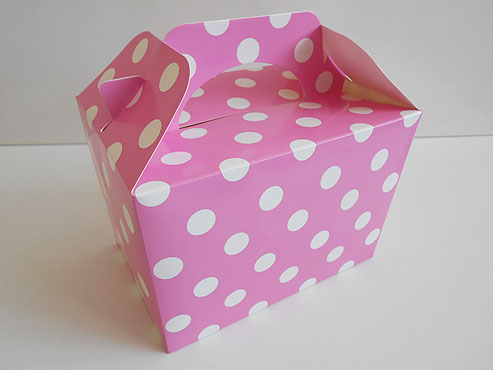 Pink Polka Dot Box