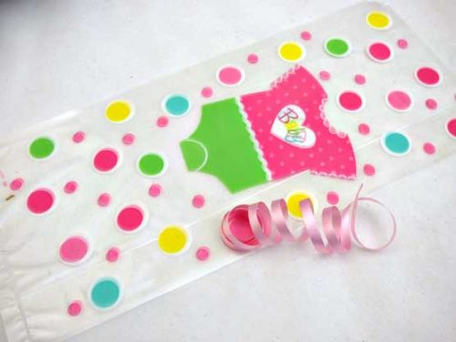 Baby Girl Cellophane Bag