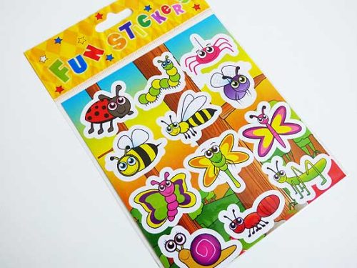 Busy Bug Sticker Sheet