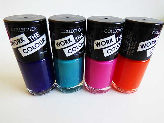 Collection Nail Polish from In the Colour Range