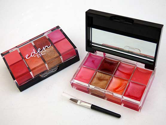 Eden 8 Shade Lipstick Palette by Body Collection