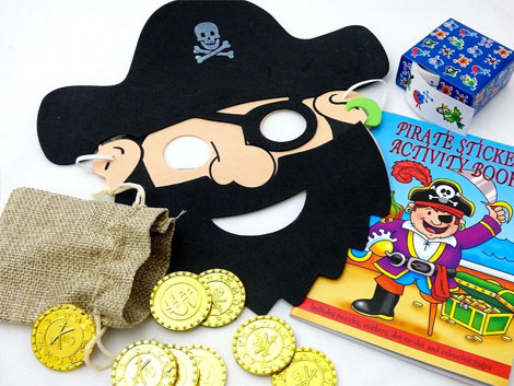 Pirate Kids party bags