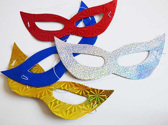 Foil Party Mask
