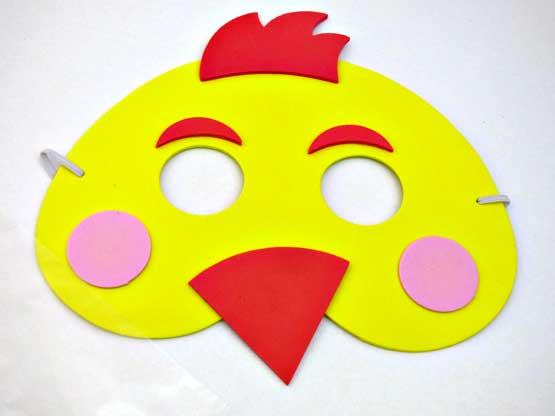 Farm Chicken Mask