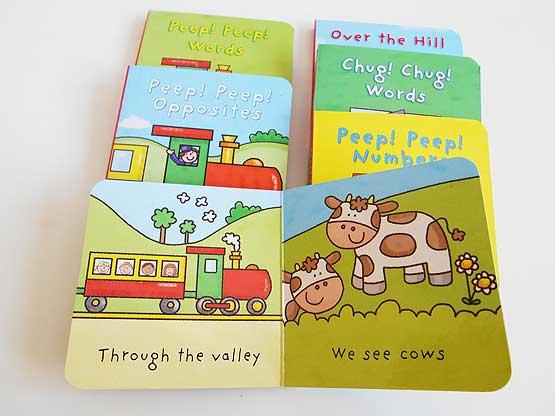 Train Little Board Book