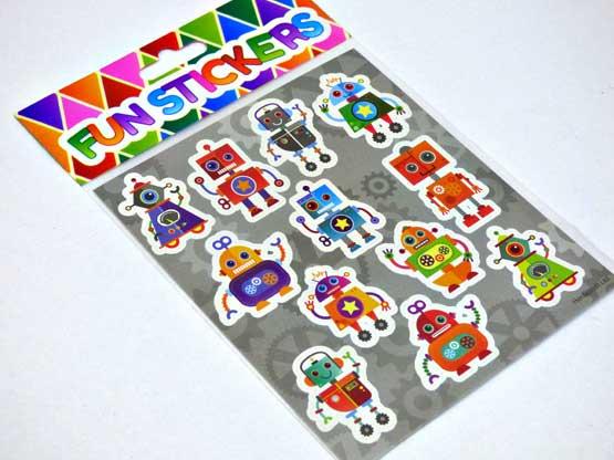 Robot Sticker Sheet