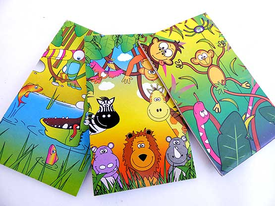 Jungle Japes Note Pad