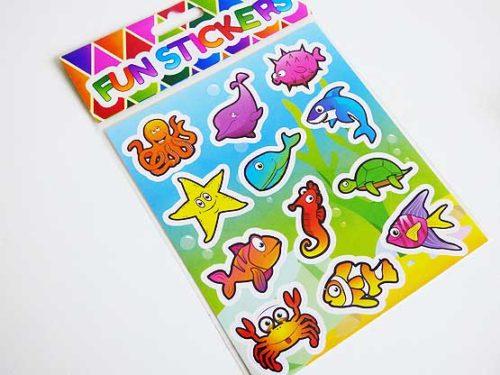 Sealife Sticker Sheet