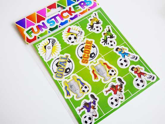 Football Sticker Sheet