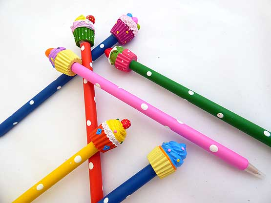 Bouncy Cupcake Pen