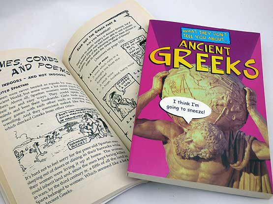 What They Don't Tell You About Ancient Greeks