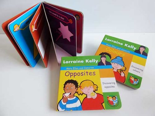 Opposites/Shapes/Colours Board Book