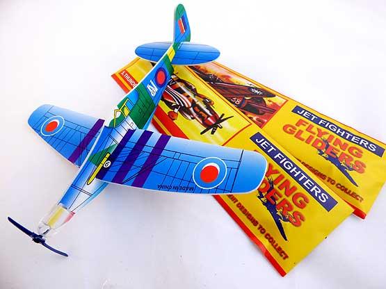 Jet Fighter Flying Glider