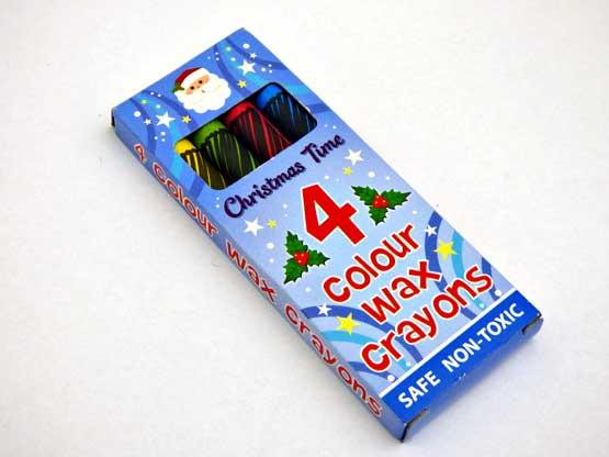 Christmas Wax Crayons